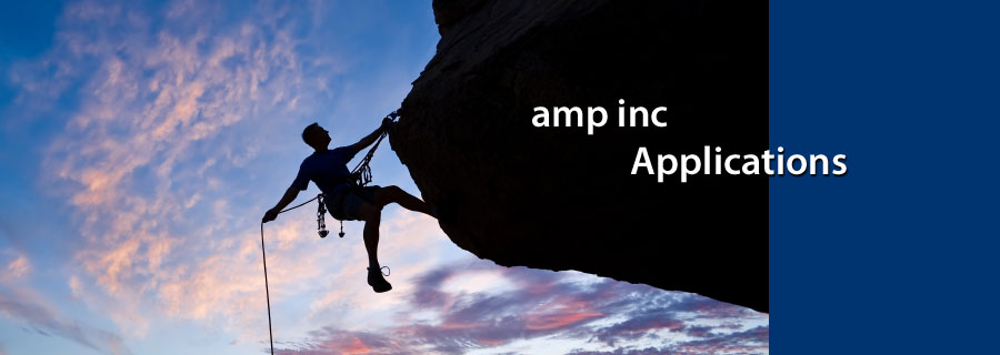 amp inc Applications