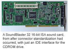 SoundBlaster 32 ISA sound card